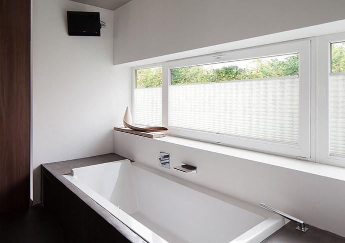 plissee duette plissees nach mass inkl montage. Black Bedroom Furniture Sets. Home Design Ideas